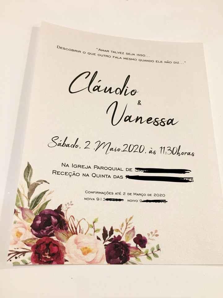 🎀 Convites ✅ - 5