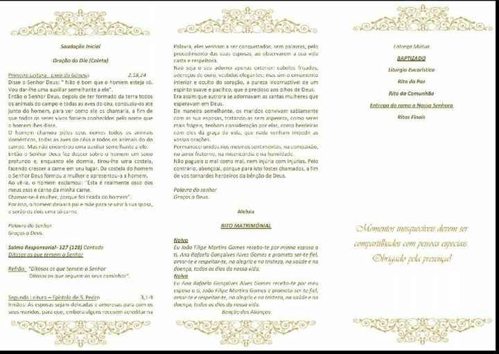 Missal casamento e baptizado - 1