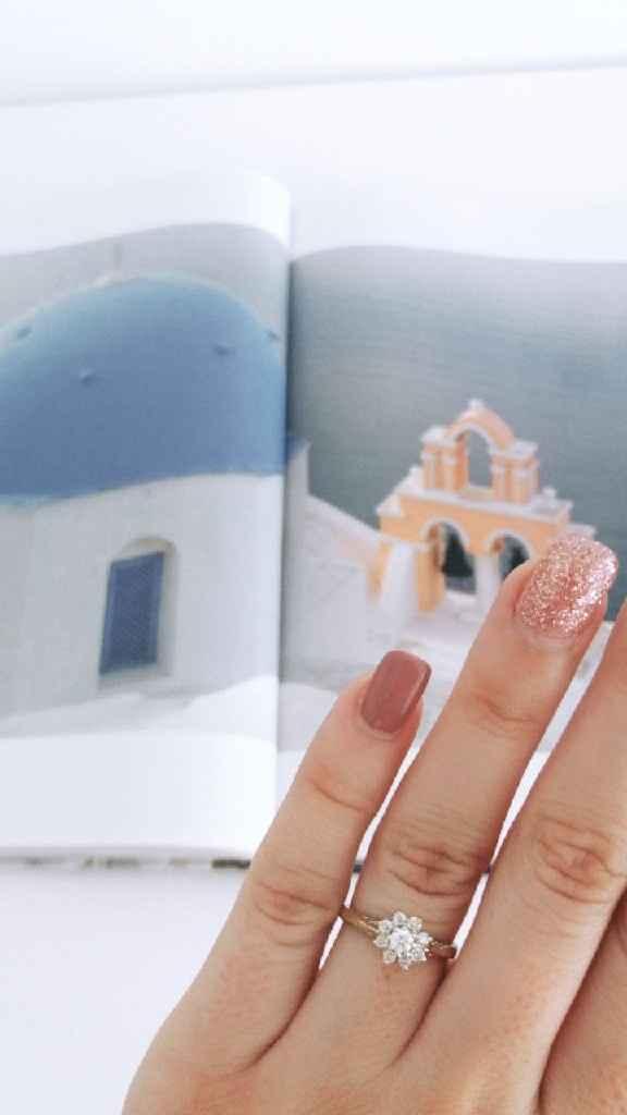 Boa noite :) Adorava ver os vossos anéis de noivado :) Quem quer partilhar? - 1