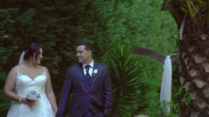 Fotos do dia do meu casamento . - 2