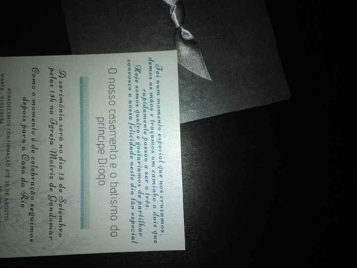 Check-convites entregue - 2