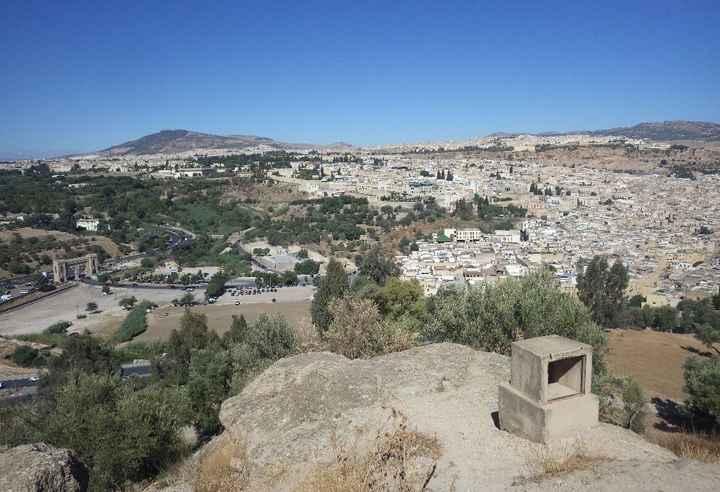 Medina Fes - Vista de Cima