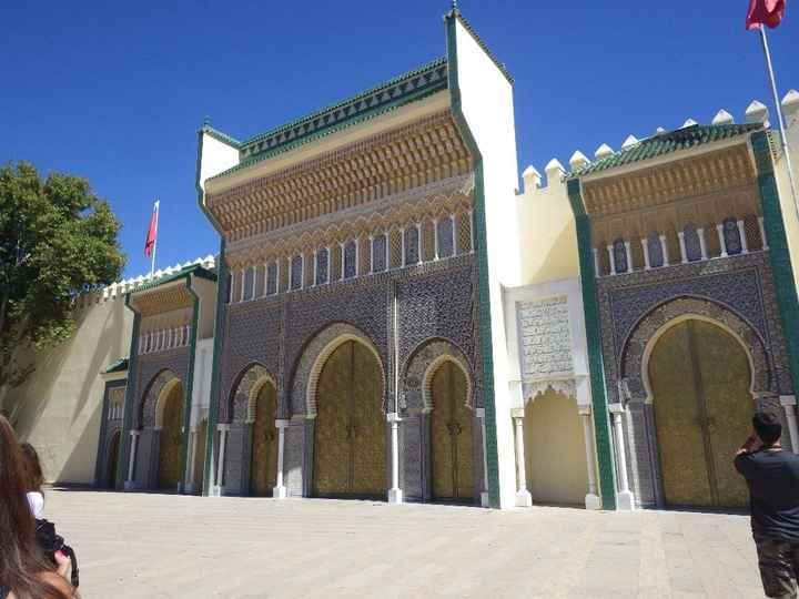 Medina Fes - Portas Palácio