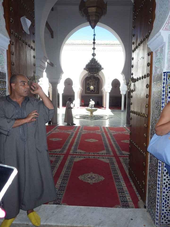 Entrada de uma mesquita