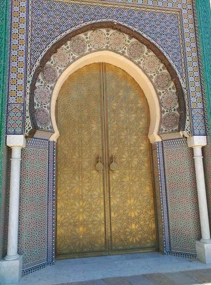 Porta Palácio - Medina Fez