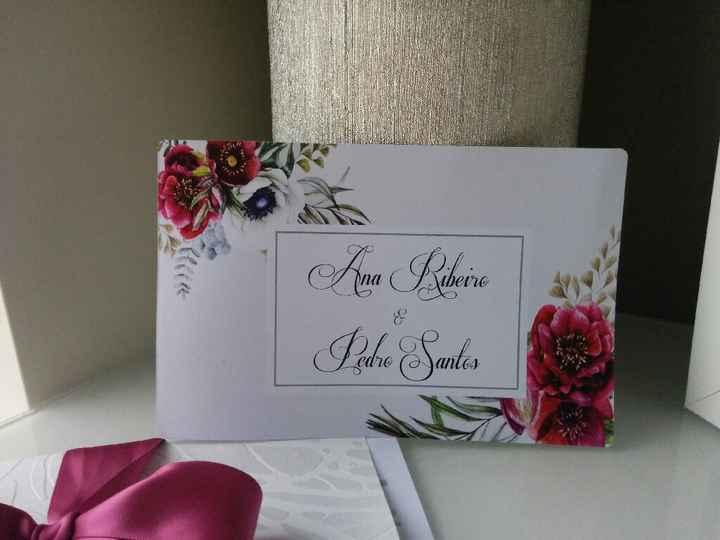 Convites de casamento: definam o vosso estilo - 2