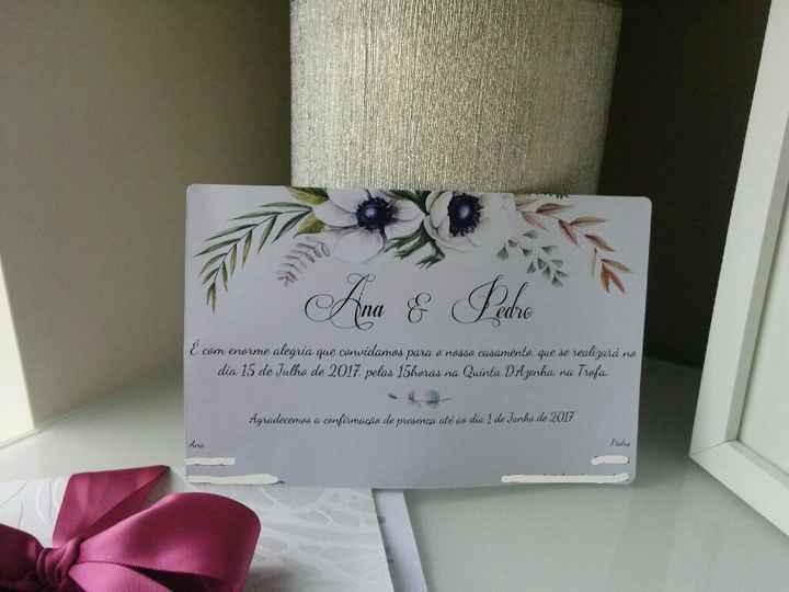 Convites de casamento: definam o vosso estilo - 3