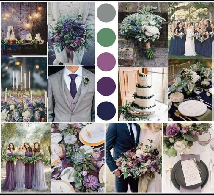 Tendência de cores de casamentos 2019 - 1