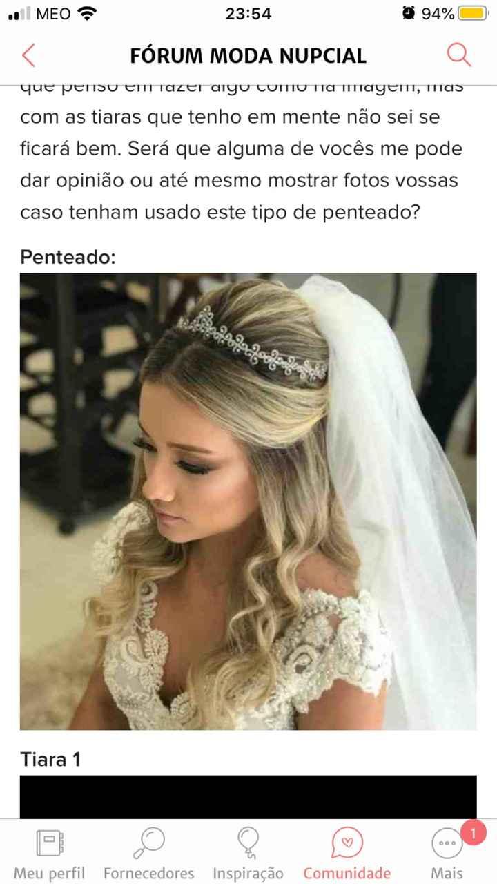 Dúvidas acessórios noivas 😍😍 - 3