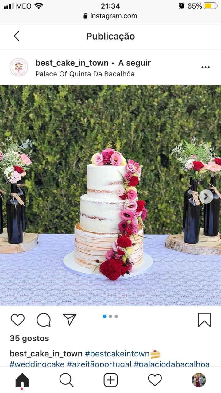 Escolha do Bolo de casamento - 3