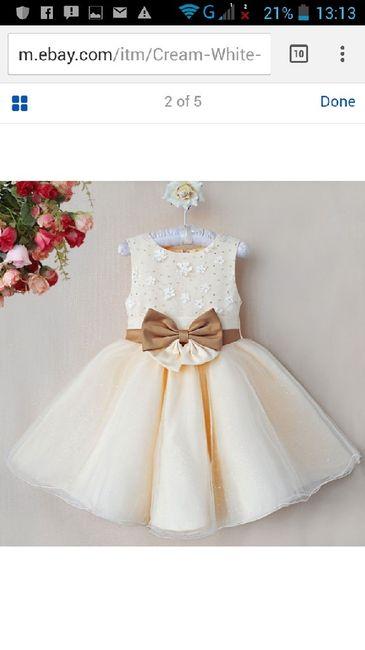 Vestidos meninas das alianças - 1
