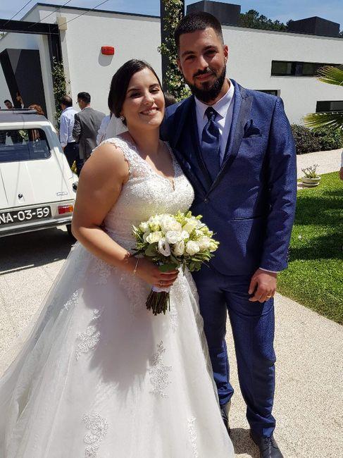 Finalmente casada 😍 2