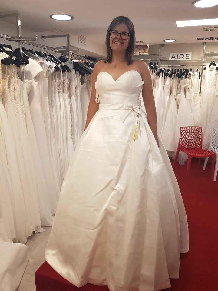 Primeira prova do vestido - 1
