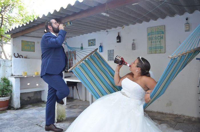 Trash the dress! Adorámos! 2