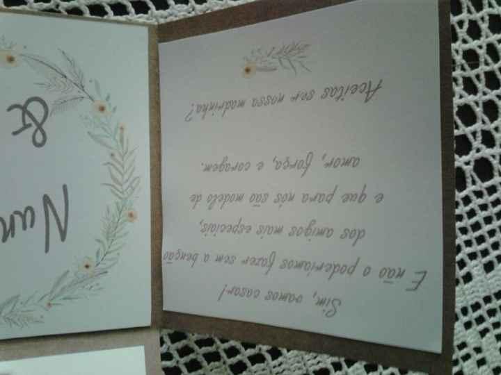 Convites dos padrinhos - 3
