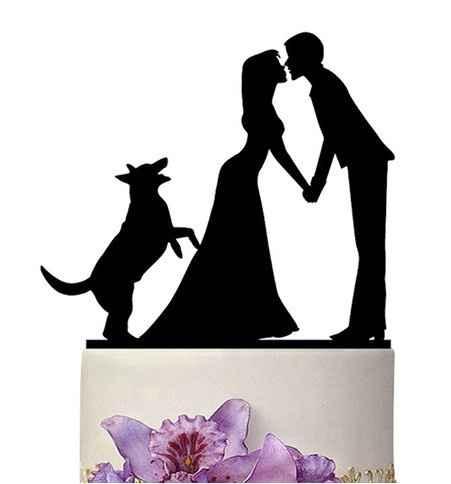 Topo de bolo com cão
