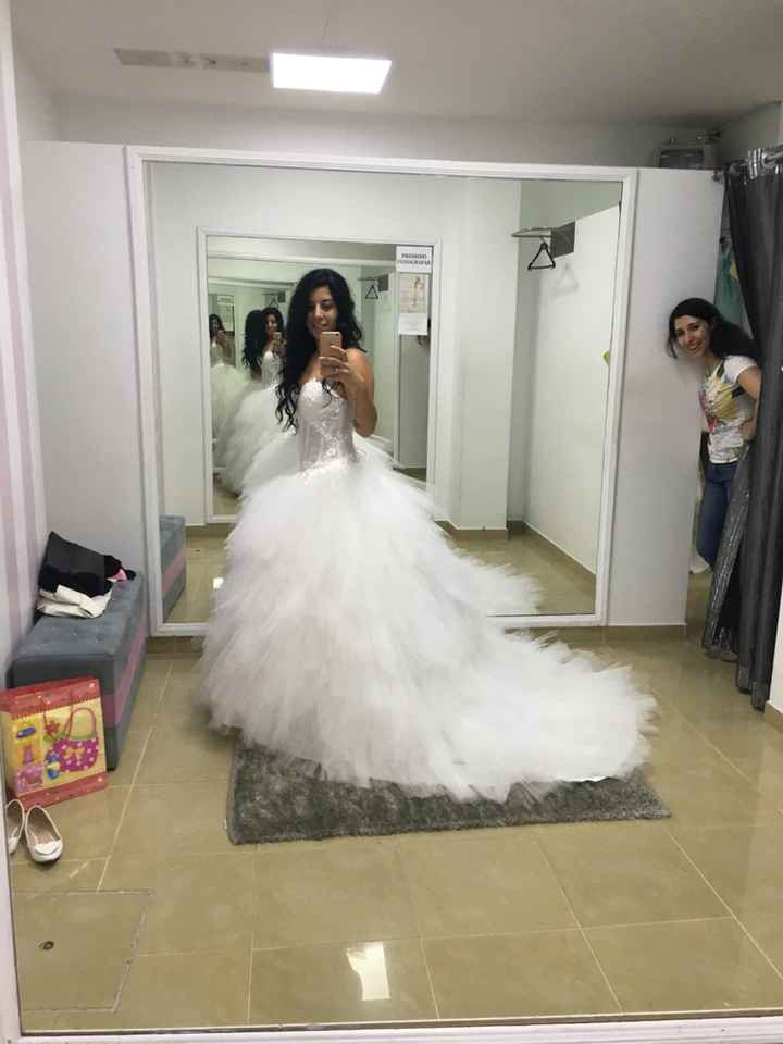 Vestido de noiva limpar ou não? decisão - 1
