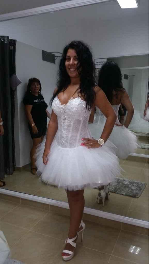 Vestido de noiva limpar ou não? decisão - 2