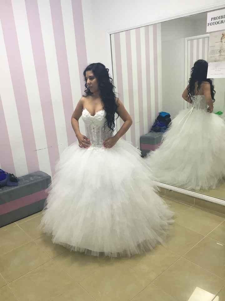 Vestido de noiva limpar ou não? decisão - 4