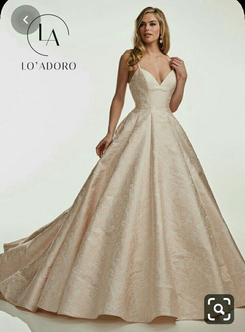 o que mais gosto num vestido de noiva Ana s - 1