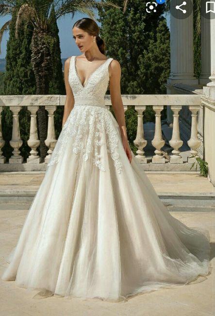 o que mais gosto num vestido de noiva Ana s - 4