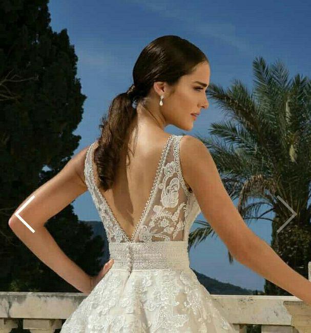 o que mais gosto num vestido de noiva Ana s - 5