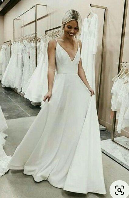 Como é que o teu noivo imagina o vestido de noiva? - 1