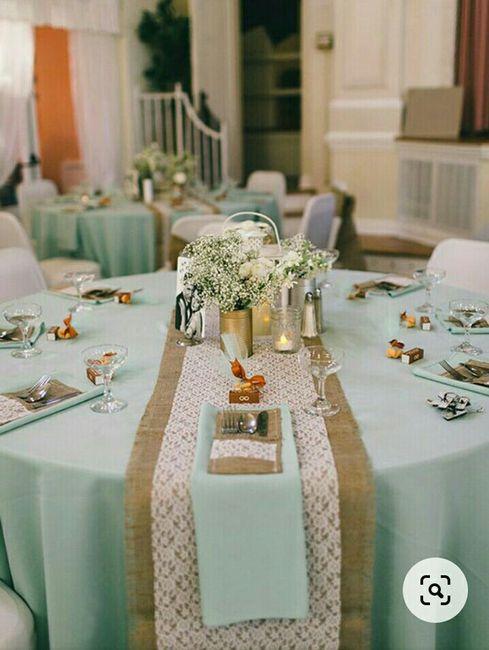 De que cor vão ser as toalhas das mesas do teu copo d'água? 3