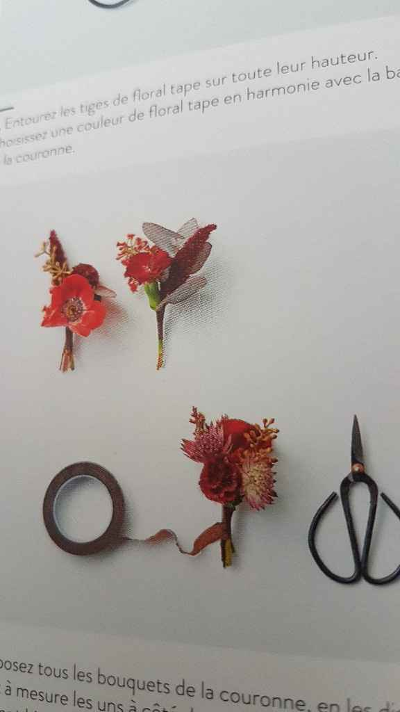 Diy coroa de flores - 14