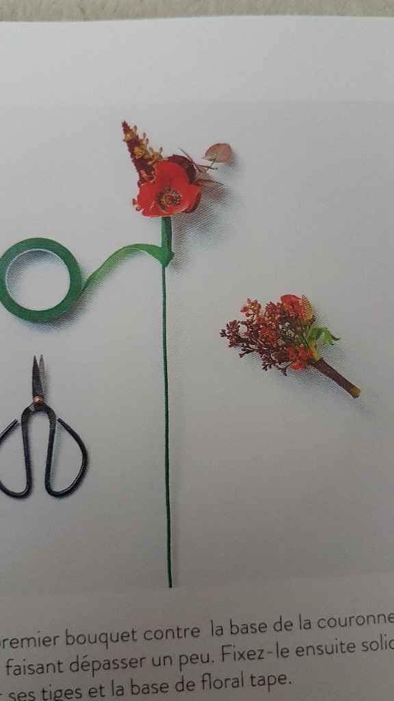 Diy coroa de flores - 16