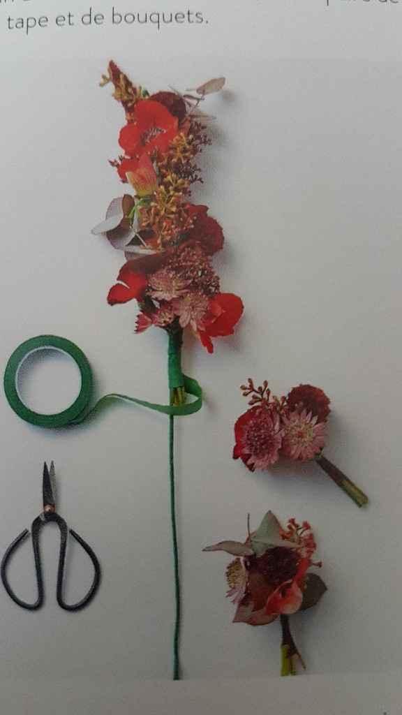 Diy coroa de flores - 17