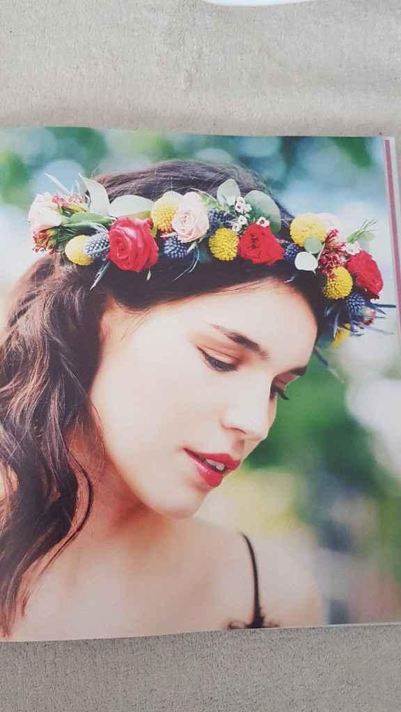 Diy coroa de flores - 20