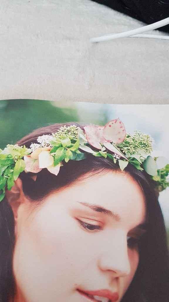 Diy coroa de flores - 22
