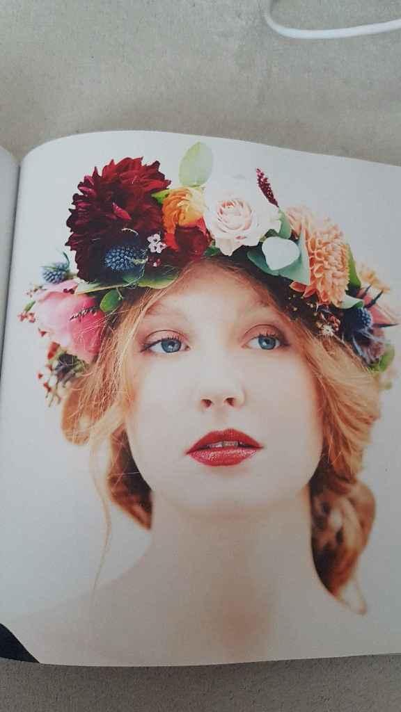Diy coroa de flores - 24