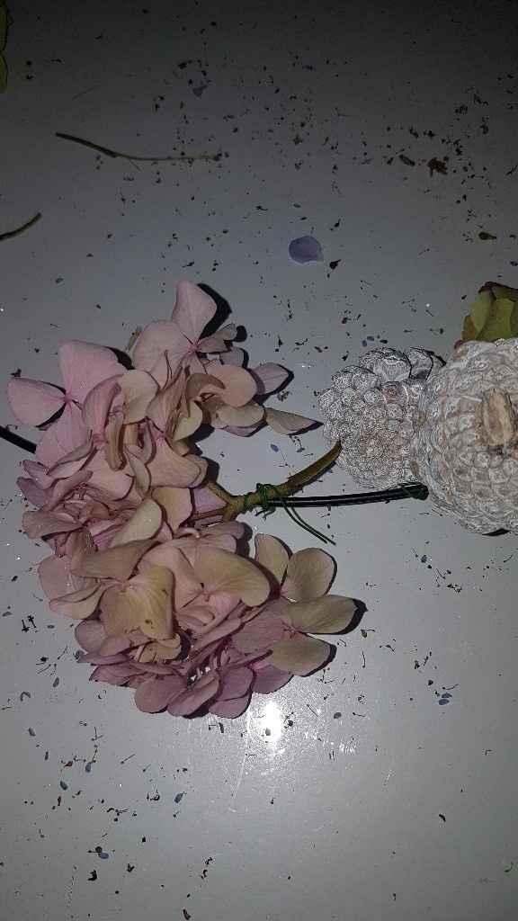 diy arco de flores para suspender - 7