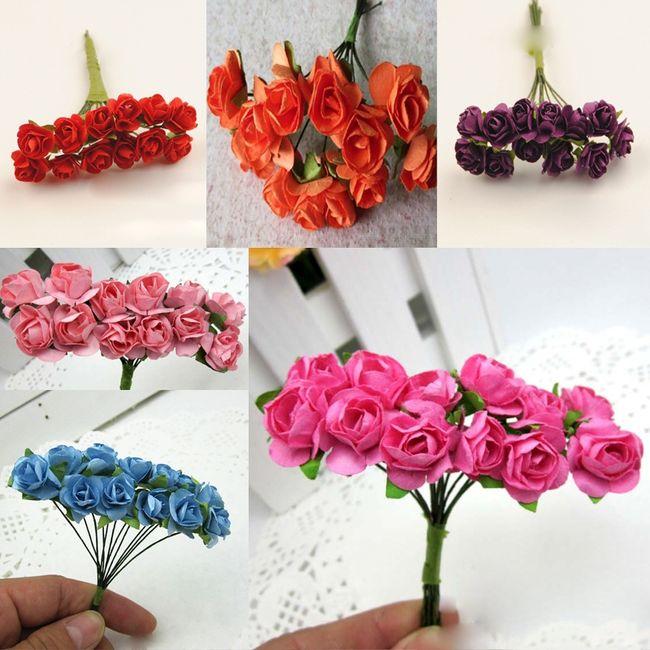 Flores tiaras