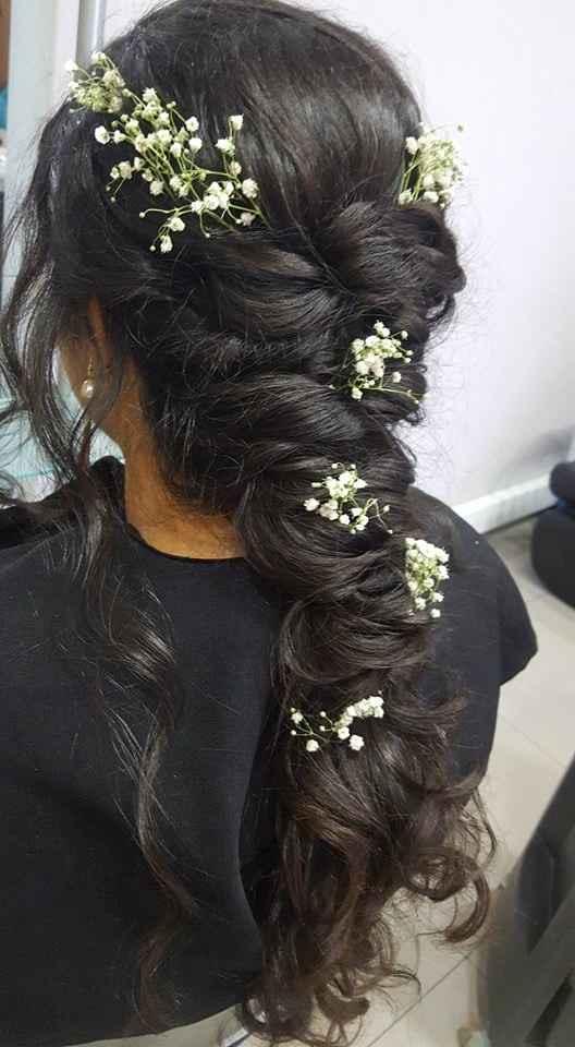Entretanto também já fiz a prova do cabelo na minha cabeleireira de sempre! Talvez a conheçam do pro
