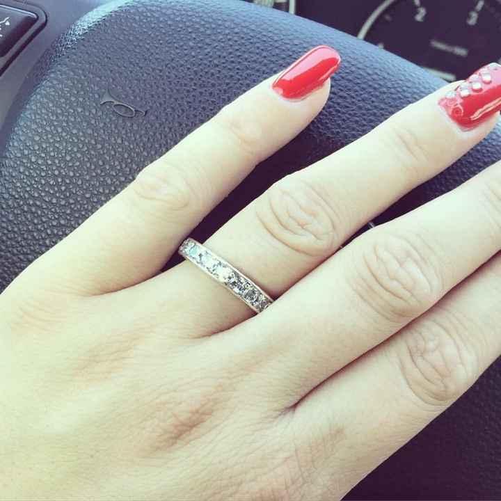 Foste pedida em casamento com anel? - 1