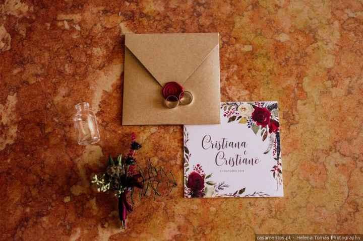 Entregaste os convites pessoalmente? 1
