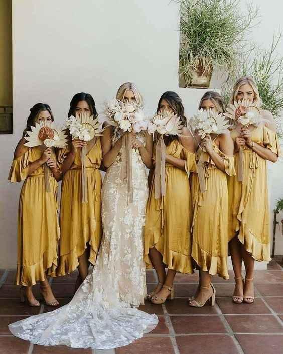 Damas de Honor de amarelo? 💛 - 3
