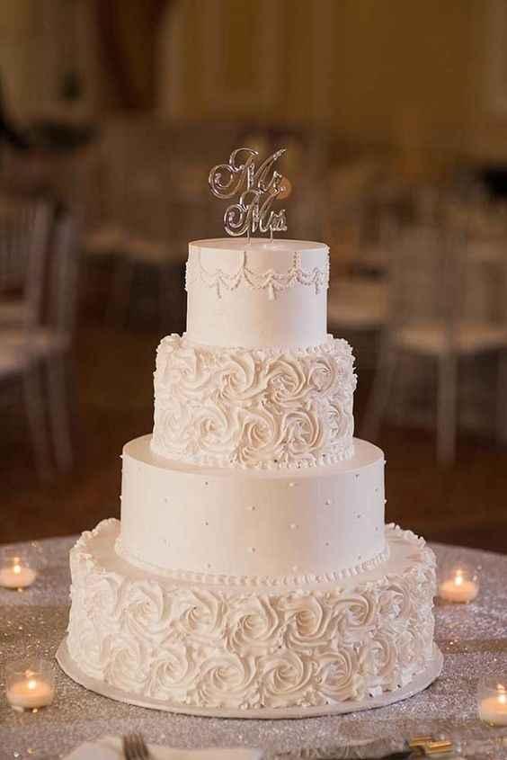 Batalha de bolos de casamento: escolhe UM 🍰 - 1