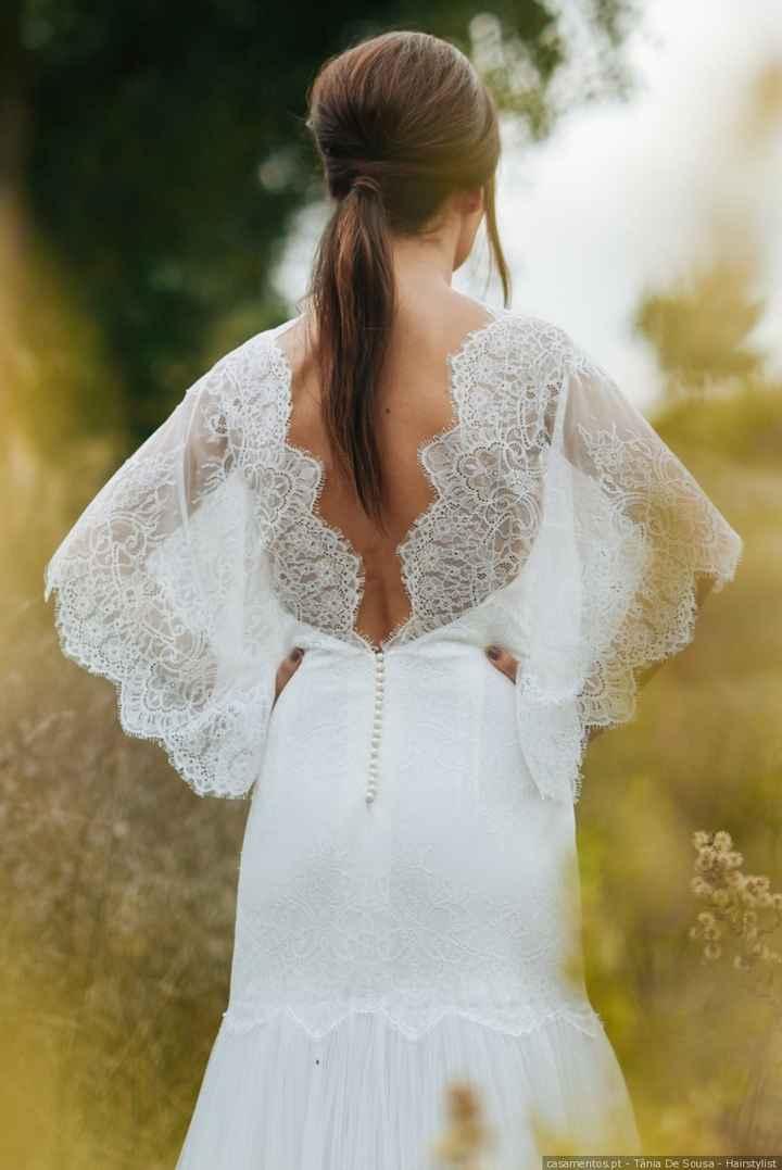 Um vestido de noiva não é nada sem ______ - 1