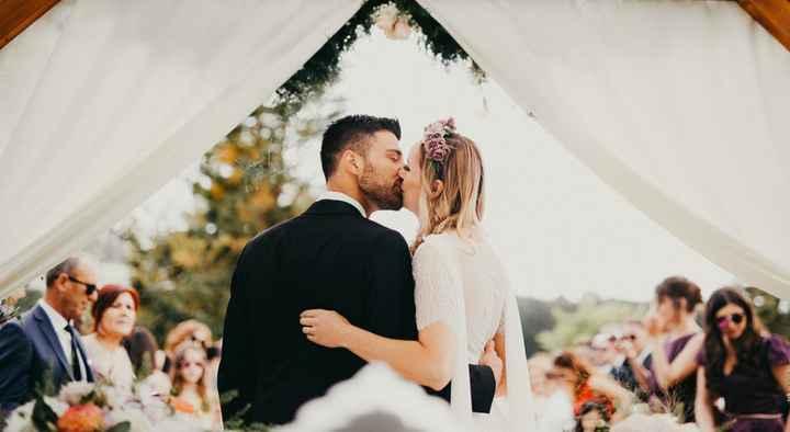 3. Primeiro beijo dos recém casados - 1
