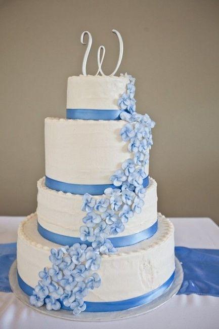 4 estilos, 4 elementos - O bolo de casamento 1