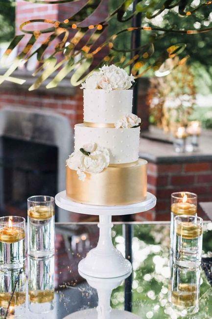 4 estilos, 4 elementos - O bolo de casamento 2