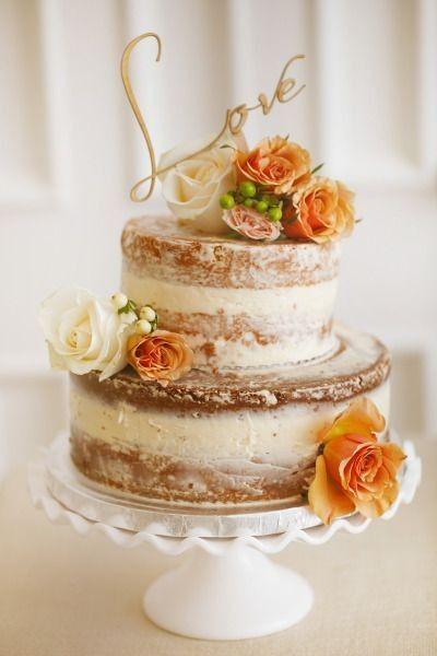 4 estilos, 4 elementos - O bolo de casamento 3