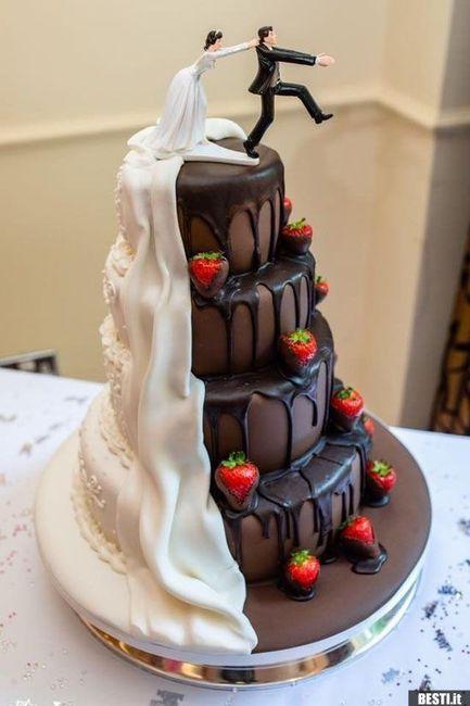 Topo do bolo com noivo a casar à força- Fixe ou desnecessário? 🤙👎 1