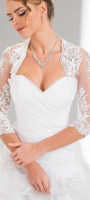 Vestido de noiva com bolero- Fixe ou desnecessário? 🤙👎 1
