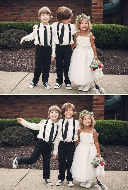 Vão crianças ao teu casamento? 1