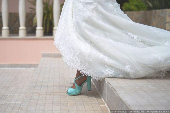 Eu nunca usaria estes sapatos! 2
